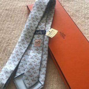 Hermès tie brand new